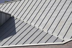 Metalldeckung Stefalzdeckung Dach