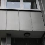 Stehfalz-Fassade