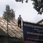 Dachstuhl Abbund, Richtfest