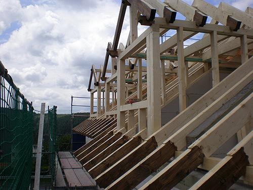 Gaube Selbst Bauen Dammen Von Dachschragen Gaube Und Giebelwand