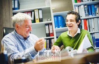 Das Familienunternehmen Büdenbender Dachtechnik, Rainer und Lukas Büdenbender
