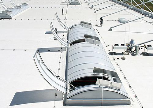 Lichtkuppel Lichtbänder Büdenbender Dachtechnik